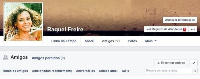 Como descobrir quem te bloqueou o Facebook (Foto: Reprodução/Raquel Freire)