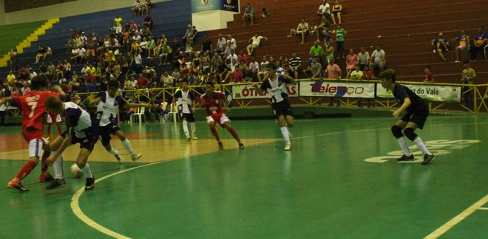 Auxiliadora x Iracy Nunes, Copa TV Grande Rio de Futsal (Foto: Amanda Lima)