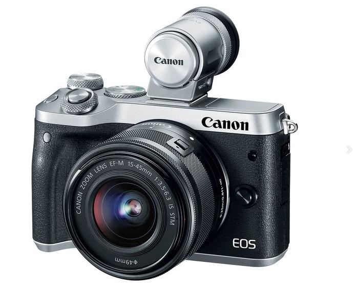 EOS M6 é aposta da Canon para as mirrorless intermediárias  (Foto: Divulgação/Canon)