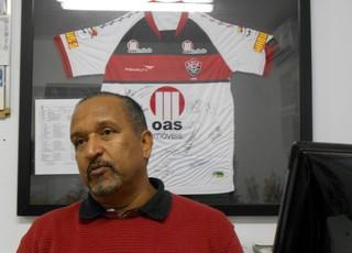 Mário Silva, supervisor de futebol do Vitória (Foto: Thiago Pereira)