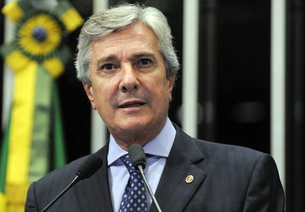 O senador Fernando Collor (PTC-AL) votou em favor do impeachment de Dilma Rousseff (Foto: Marcos Oliveira/Agência Senado)