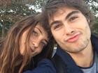 Rafael Vitti posa em clique fofo com a namorada, Julia Oristanio