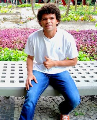 Camilo meia Chapecoense (Foto: Jessica Mello)