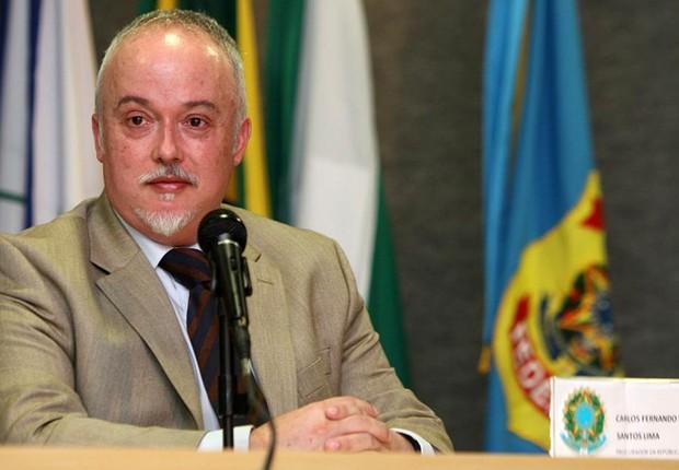 O procurador Carlos Fernando dos Santos Lima, da força-tarefa da Lava Jato (Foto: MPF)