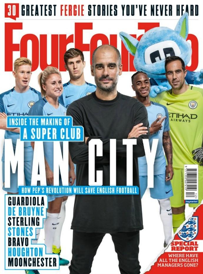 Guardiola Four Four Two