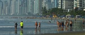Confira a página especial de  verão G1 SC (Luiz Carlos de Souza/RBS TV)