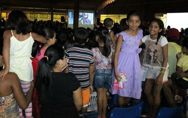 As amigas assistiram ao filme mais de dez vezes  (Foto: Katiúscia Monteiro/ Rede Amazônica)