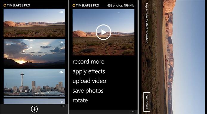 Timelapse Pro é uma alternativa para o Hyperlapse no Windows Phone (Foto: Divulgação/Windows Phone Store)