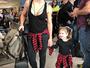 Mirella Santos e a filha usam looks iguais: 'Mirellão e Mirellinha', diz Ceará
