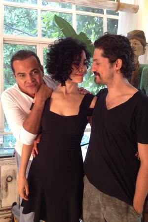 Letícia Sabatella muda o visual (Foto: Divulgação)