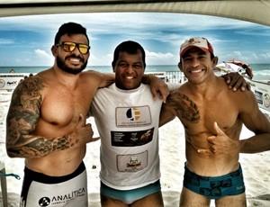 Edcarlos e Thiago Jambo (Foto: Lucymeire Vieira)