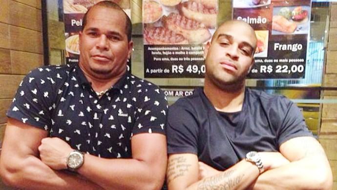 Aloisio Chulapa Adriano Imperador instagram (Foto: Reprodução )