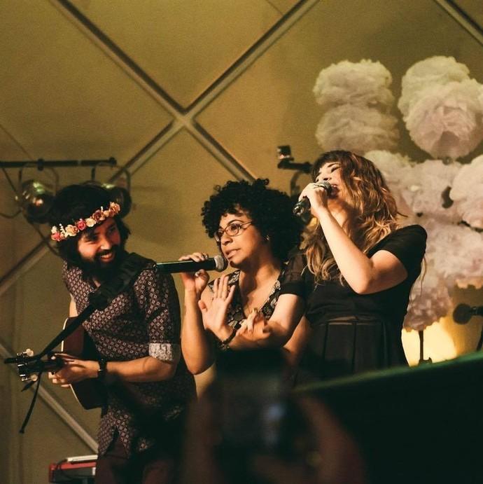 Companheirismo na vida e no palco (Foto: arquivo pessoal)