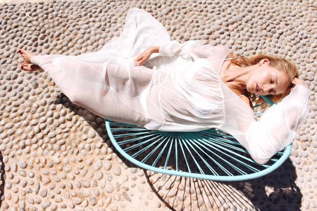 Celina Locks em Ibiza (Foto: Divulgação)