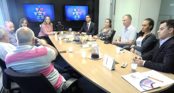 Fórum dos Telespectadores do Bom Dia Santa Catarina iniciou em abril (Foto: Divulgação/RBS TV)