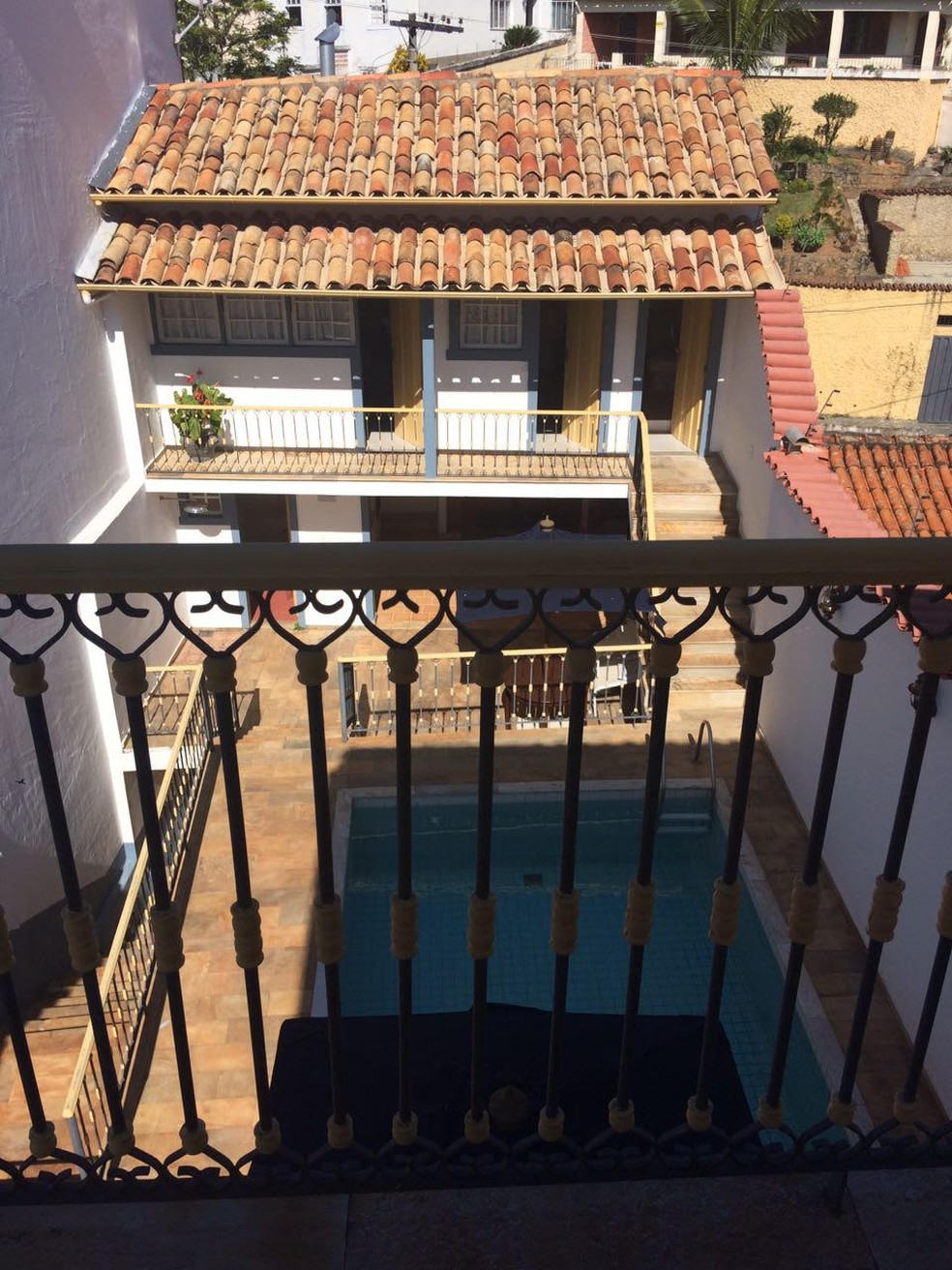 Casa em São João Del Rei (MG), onde obras foram encontradas pela PF (Foto: Divulgação/MPF)