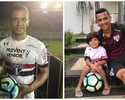Cícero presenteia filho Enzo com bola dos três gols pelo São Paulo; veja