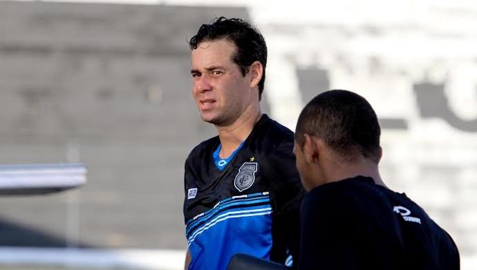 Paulo Musse, goleiro do Treze (Foto: Nelsina Vitorino / Jornal da Paraíba)