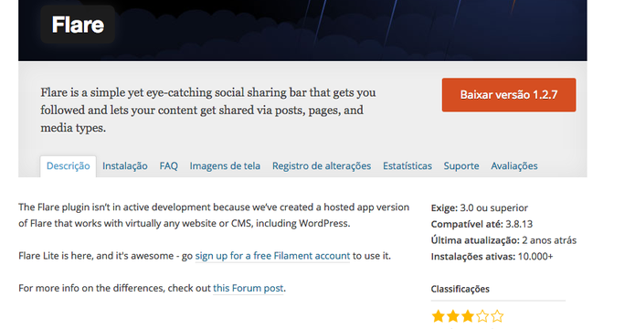 Como baixar e instalar plugins Wordpress para seu blog ou site (Foto: Reprodução/Wordpress)
