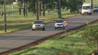 Motoristas andam na contramão no Park Way