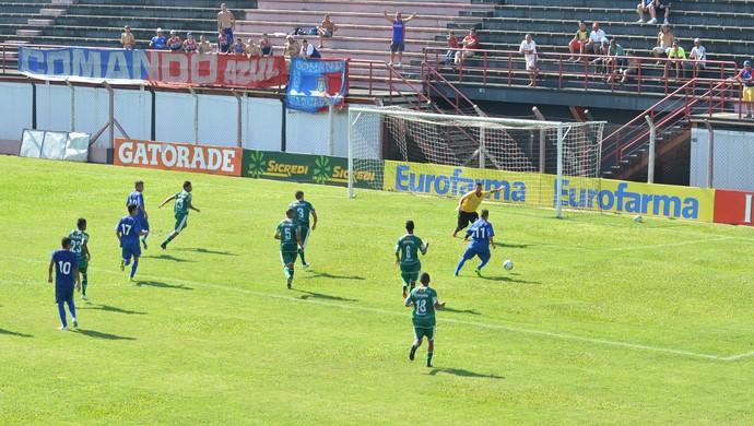 São Caetano x Palmeira-RN Copa São Paulo de Futebol Júnior 2015 (Foto: Cairo Barros)
