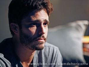 William quer encontrar o irmão (Foto: Inácio Moraes/TV Globo)