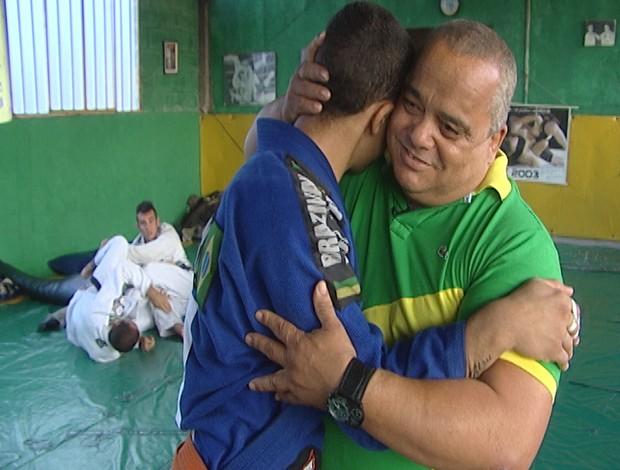 Ruan Alvarenga jiu-jitsu Divinópolis (Foto: Reprodução/TV Integração)