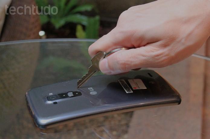 LG G flex 2 (Foto: TechTudo)