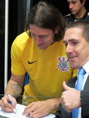 Cássio, goleiro do Corinthians (Foto: Rodrigo Faber/Globoesporte.com)