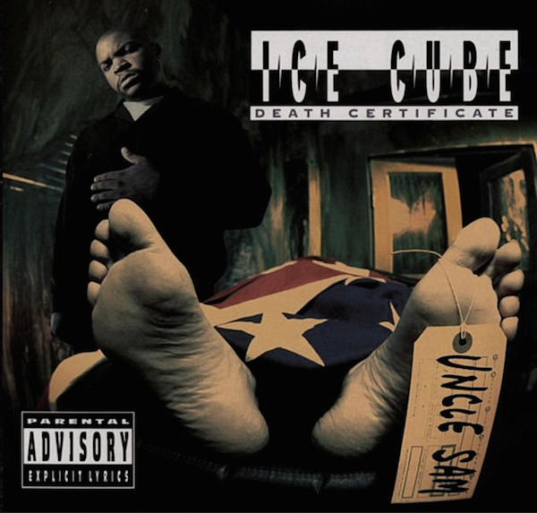 A capa do disco de Ice Cube que teria inspirado a versão de Snoop Dogg com o corpo de Donald Trump (Foto: Reprodução)