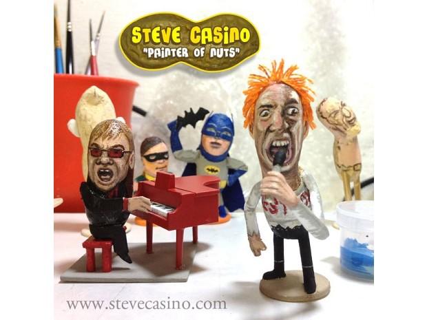 Elton John na versão de Steve Casino (Foto: Divulgação)
