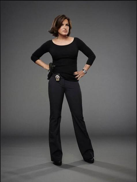 Mariska Hargitay na 15ª temporada de 'Law and order' (Foto: Reprodução da internet)
