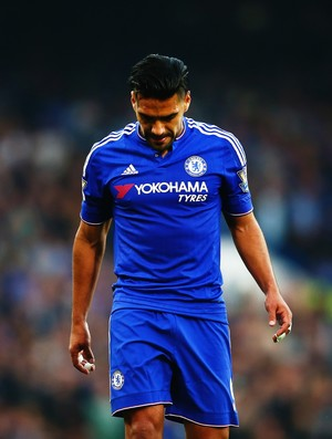 Falcao García Chelsea (Foto: Getty Images)