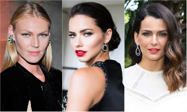 Shirley Mallmann, Adriana Lima e Fernanda Motta: tops estão entre as modelos descobertas por Pietro Di Marcos (Foto: Reprodução / Instagram | Manuela Scarpa / Brazil News)