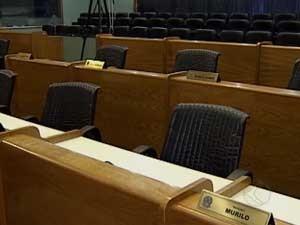 Quatorze cadeiras foram para novos eleitos (Foto: Reprodução / TV Integração)
