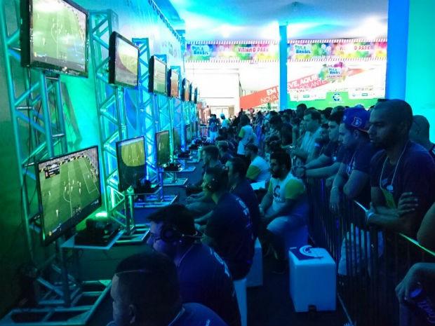 TEM Games Bauru contabiliza mais de 200 partidas no primeiro dia (Foto: Ednan Gomes/G1)