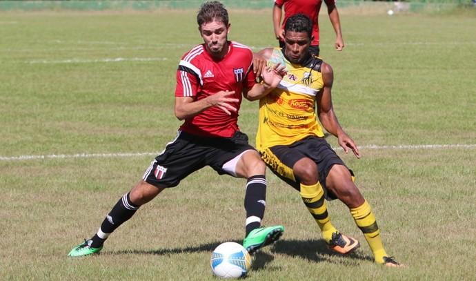 Botafogo-SP x Novorizontino, jogo-treino (Foto: Rogério Moroti / Agência Botafogo)