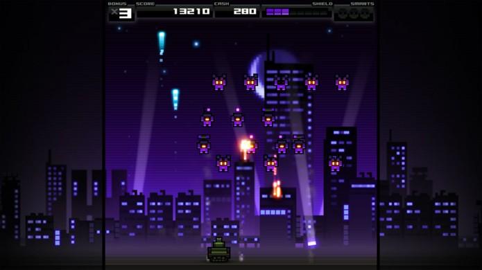 Titan Attacks! se inspira no clássico Space Invaders mas vai além (Foto: Divulgação)