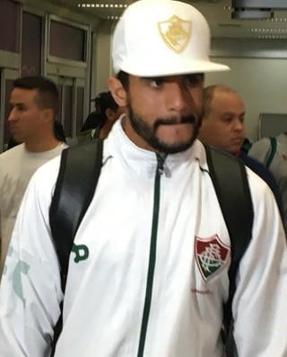 Henrique Dourado, Fluminense (Foto: Caio Filho)