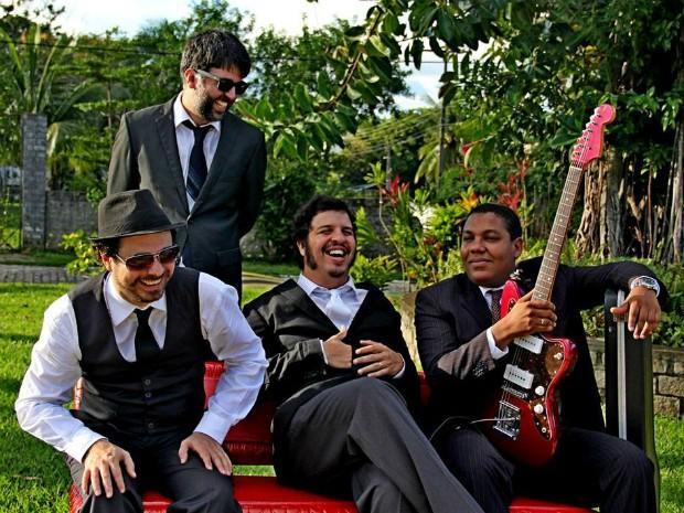 Banda Falsos Modernos é um dos destaques da atual cena de Salvador (Foto: Carla Galrão/Divulgação)