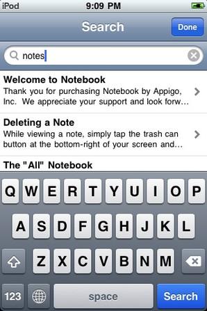 Anotações no iPhone é com Notebook