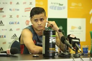 Everton - Flamengo treino Arena das Dunas (Foto: Alexandre Lago/GloboEsporte.com)