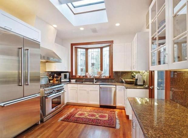 apartamento_Krasinski_Blunt (Foto: Reprodução / House Beautiful)