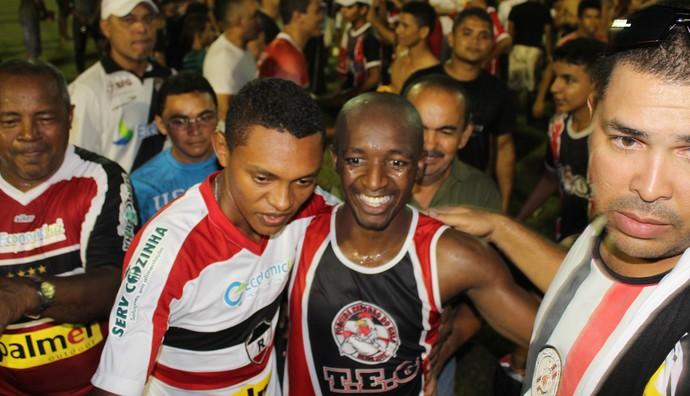 Amarildo, jogador do River-PI (Foto: Abdias Bideh/GloboEsporte.com)