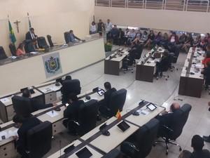 amapá; macapá; alap; sessão; assembleia legislativa; (Foto: John Pacheco/G1)