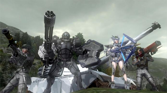 Prepare-se para enfrentar os insetos gigantes de Earth Defense Force 2025 (Foto: gamezone.com)