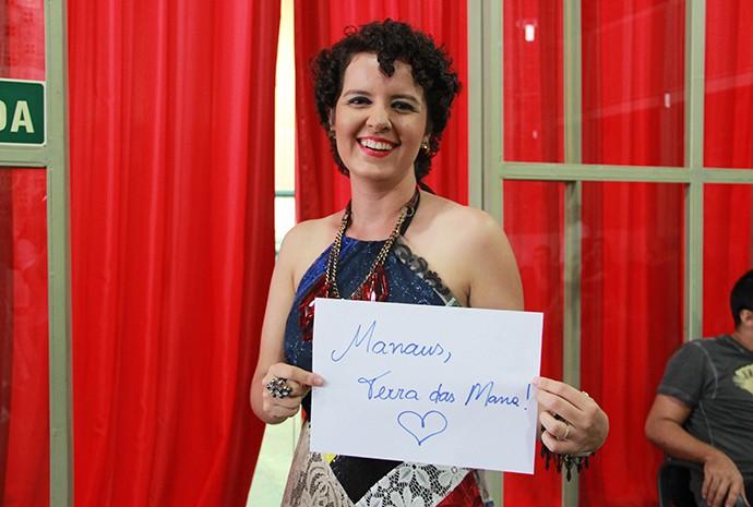 Karine Aguiar (Foto: Katiúscia Monteiro/ Rede Amazônica)