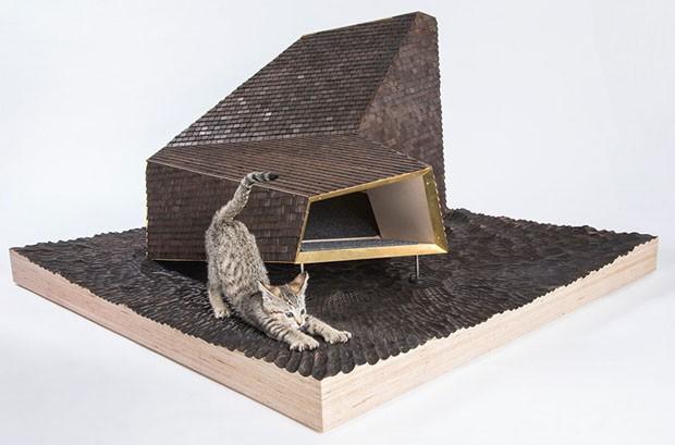 10 casas de gatos desenhadas por profissionais renomados (Foto: Divulgação)