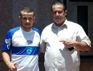 Lucas Herbst, lateral-direito e volante do Osvaldo Cruz (Foto: Osvaldo Cruz / Divulgação)