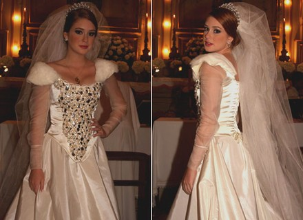 Marina Ruy Barbosa garante: O vestido de Alice é mais bonito que o da princesa Kate